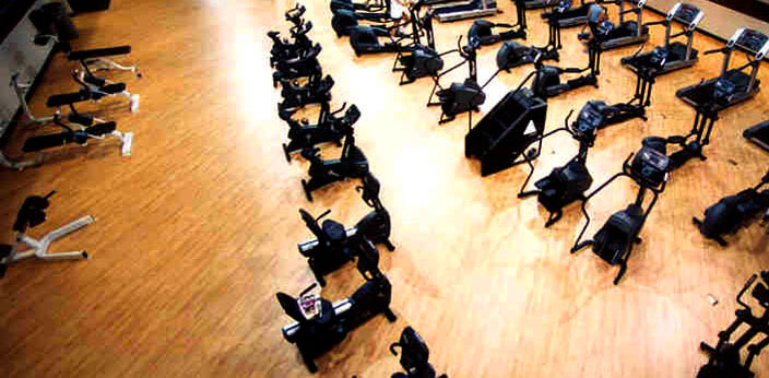 Athletic, Gym Weightroom Rubber and Synthetic Flooring