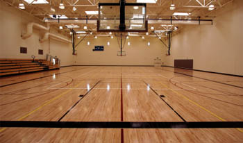 Basketball Court Flooring Installation and Service