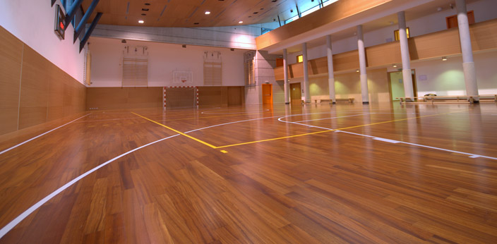 Basketball Court Flooring, Gym and Athletic Court Floor installations