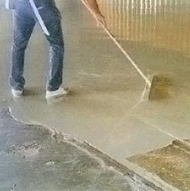 Flooring Repair And Services: Self Leveling Cement
