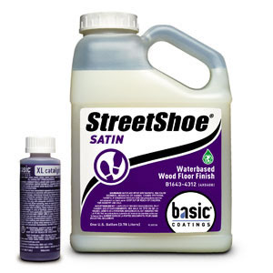 Street Shoe Waterbased Wood Floor Finish